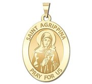 Saint Agrippina Religious Medal    EXCLUSIVE
