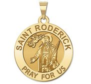 Saint Roderick Religious Medal  EXCLUSIVE