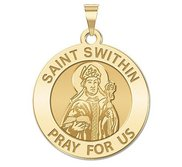 Saint Swithin Religious Medal  EXCLUSIVE