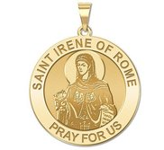 Saint Irene of Rome Religious Medal  EXCLUSIVE