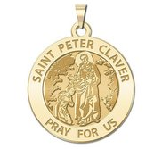 Saint Peter Claver Religious Medal  EXCLUSIVE