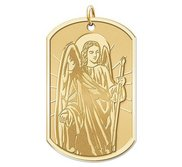 Saint Raphael  Dog Tag Religious Medal  EXCLUSIVE