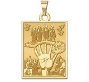 Mano Poderosa Religious Medal  EXCLUSIVE