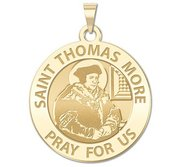 Saint Thomas More Religious Medal  EXCLUSIVE