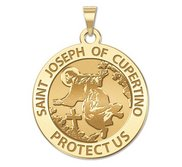 Saint Joseph of Cupertino Religious Medal  EXCLUSIVE