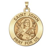 Saint John the Evangelist Religious Medal  EXCLUSIVE