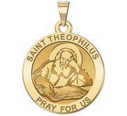 Saint Theophilus Religious Medal  EXCLUSIVE