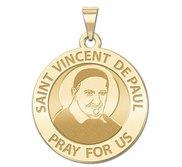 Saint Vincent De Paul Religious Medal  EXCLUSIVE