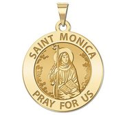 Saint Monica Religious Medal   EXCLUSIVE