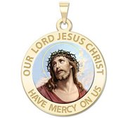 Our Lord Jesus Christ Religious Medal  Color EXCLUSIVE
