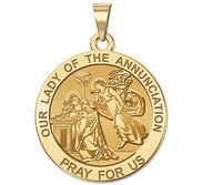 Our Lady of the Annunciation Religious Medal   EXCLUSIVE