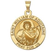 Saint William of Aquitaine Religious Medal    EXCLUSIVE