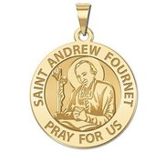Saint Andrew Fournet Round Medal  EXCLUSIVE