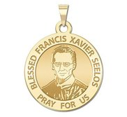 Blessed Francis Xavier Seelos Round Religious Medal  EXCLUSIVE