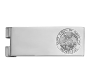 Stainless Steel Engravable Saint Joseph of Cupertino Money Clip