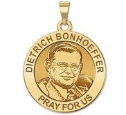 Dietrich Bonhoeffer Round Religious Medal  EXCLUSIVE