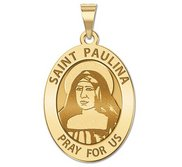 Saint Paulina Medal  OVAL  EXCLUSIVE