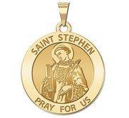 Saint Stephen Religious Medal  EXCLUSIVE