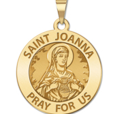 Saint Joanna Religious Medal  EXCLUSIVE