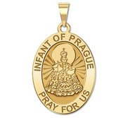 Infant of Prague   Religious Medal   EXCLUSIVE