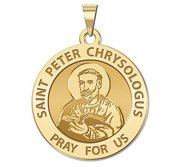 Saint Peter Chrysologus Religious Medal  EXCLUSIVE
