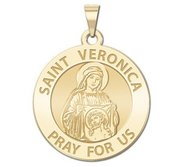 Saint Veronica Religious Medal   EXCLUSIVE