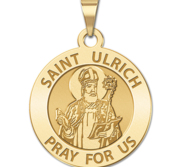Saint Ulrich Religious Medal  EXCLUSIVE