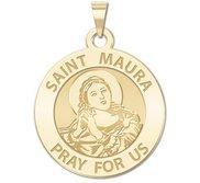 Saint Maura Religious Medal  EXCLUSIVE