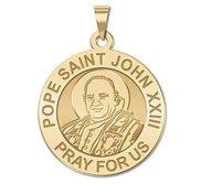 Pope Saint John XXIII Religious Round Medal  EXCLUSIVE