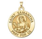 Saint Samantha Religious Medal  EXCLUSIVE