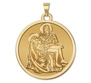 La Pieta Religious Medal  EXCLUSIVE