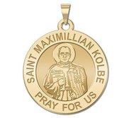 Saint Maximillian Kolbe Religious Medal  EXCLUSIVE