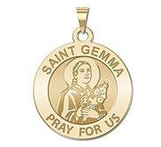 Saint Gemma Galgani Medal   Round  EXCLUSIVE