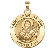 Saint Joan of Arc Religious Medal  EXCLUSIVE