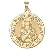 Saint Mary Magdalene Religious Medal  EXCLUSIVE
