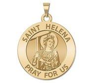 Saint Helena Round Religious Medal   EXCLUSIVE