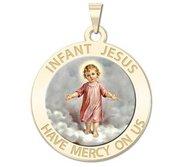 Infant Jesus Religious Medal   Color EXCLUSIVE