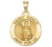 Saint Odilo Religious Medal  EXCLUSIVE