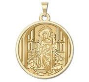 Mater Admirabilis Plain Border Religious Medal  EXCLUSIVE