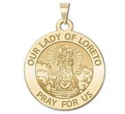 Our Lady of Loreto Religious Medal   EXCLUSIVE