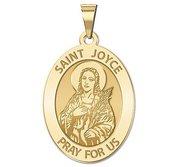 Saint Joyce Religious Medal   EXCLUSIVE