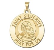 Pope Saint Silverius Religious Medal  EXCLUSIVE