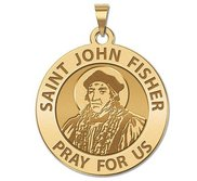Saint John Fisher Religious Medal  EXCLUSIVE