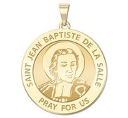 Saint Jean Baptiste de la Salle Religious Medal  EXCLUSIVE