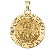 Our Lady Undoer of Knots Religious Medal   EXCLUSIVE