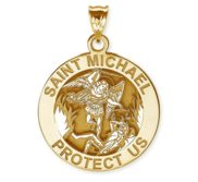Saint Michael Religious Medal   EXCLUSIVE