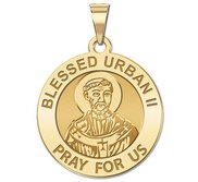 Blessed Urban II Round Religious Medal  EXCLUSIVE