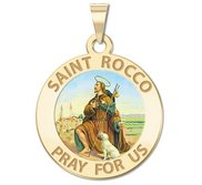 Saint Rocco Religious Medal  EXCLUSIVE
