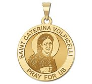 Saint Caterina Volpicelli Round Religious Medal    EXCLUSIVE