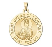Saint Urban of Langres Religious Medal  EXCLUSIVE
